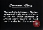 Image of Charles Lindbergh Mexico City Mexico, 1927, second 19 stock footage video 65675031339