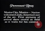 Image of Charles Lindbergh Mexico City Mexico, 1927, second 20 stock footage video 65675031339