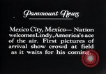 Image of Charles Lindbergh Mexico City Mexico, 1927, second 22 stock footage video 65675031339