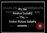 Image of Charles Lindbergh United States USA, 1927, second 20 stock footage video 65675031350