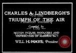 Image of Charles Lindbergh United States USA, 1927, second 21 stock footage video 65675031350