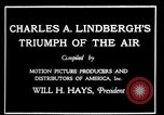 Image of Charles Lindbergh United States USA, 1927, second 22 stock footage video 65675031350