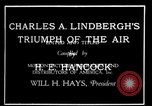 Image of Charles Lindbergh United States USA, 1927, second 23 stock footage video 65675031350