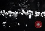 Image of Charles Lindbergh Paris France, 1928, second 39 stock footage video 65675031356