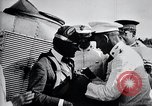 Image of Charles Lindbergh at Canal Zone Panama City Panama, 1928, second 58 stock footage video 65675031388