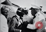 Image of Charles Lindbergh at Canal Zone Panama City Panama, 1928, second 59 stock footage video 65675031388