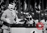 Image of Adolf Hitler at rally and parade Germany, 1939, second 29 stock footage video 65675031407