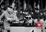 Image of Adolf Hitler at rally and parade Germany, 1939, second 30 stock footage video 65675031407