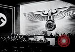 Image of Adolf Hitler reads Roosevelt letter Berlin Germany, 1939, second 25 stock footage video 65675031408