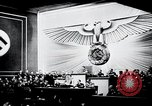 Image of Adolf Hitler reads Roosevelt letter Berlin Germany, 1939, second 26 stock footage video 65675031408