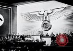 Image of Adolf Hitler reads Roosevelt letter Berlin Germany, 1939, second 27 stock footage video 65675031408