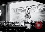 Image of Adolf Hitler reads Roosevelt letter Berlin Germany, 1939, second 28 stock footage video 65675031408