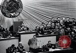 Image of Adolf Hitler reads Roosevelt letter Berlin Germany, 1939, second 31 stock footage video 65675031408