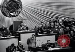 Image of Adolf Hitler reads Roosevelt letter Berlin Germany, 1939, second 32 stock footage video 65675031408