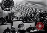 Image of Adolf Hitler reads Roosevelt letter Berlin Germany, 1939, second 34 stock footage video 65675031408