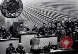 Image of Adolf Hitler reads Roosevelt letter Berlin Germany, 1939, second 35 stock footage video 65675031408