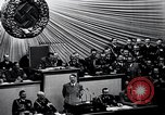 Image of Adolf Hitler reads Roosevelt letter Berlin Germany, 1939, second 36 stock footage video 65675031408