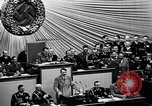 Image of Adolf Hitler reads Roosevelt letter Berlin Germany, 1939, second 37 stock footage video 65675031408