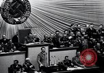 Image of Adolf Hitler reads Roosevelt letter Berlin Germany, 1939, second 39 stock footage video 65675031408