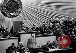 Image of Adolf Hitler reads Roosevelt letter Berlin Germany, 1939, second 42 stock footage video 65675031408