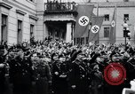 Image of Adolf Hitler reads Roosevelt letter Berlin Germany, 1939, second 62 stock footage video 65675031408