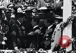 Image of Charles Lindbergh receives medal in New York New York City USA, 1927, second 40 stock footage video 65675031416