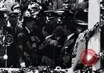 Image of Charles Lindbergh receives medal in New York New York City USA, 1927, second 42 stock footage video 65675031416