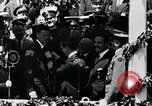 Image of Charles Lindbergh receives medal in New York New York City USA, 1927, second 43 stock footage video 65675031416