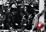 Image of Charles Lindbergh receives medal in New York New York City USA, 1927, second 46 stock footage video 65675031416