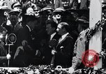 Image of Charles Lindbergh receives medal in New York New York City USA, 1927, second 49 stock footage video 65675031416