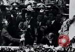 Image of Charles Lindbergh receives medal in New York New York City USA, 1927, second 60 stock footage video 65675031416