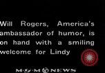 Image of Charles Lindbergh Mexico City Mexico, 1927, second 43 stock footage video 65675031423
