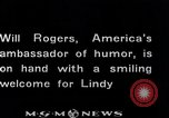 Image of Charles Lindbergh Mexico City Mexico, 1927, second 47 stock footage video 65675031423