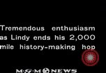 Image of Charles Lindbergh Mexico City Mexico, 1927, second 59 stock footage video 65675031423
