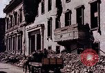 Image of bomb damage Berlin Germany, 1945, second 37 stock footage video 65675031436