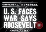 Image of Franklin Roosevelt addresses city of Chicago Chicago Illinois USA, 1937, second 2 stock footage video 65675031439