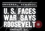 Image of Franklin Roosevelt addresses city of Chicago Chicago Illinois USA, 1937, second 3 stock footage video 65675031439
