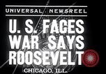 Image of Franklin Roosevelt addresses city of Chicago Chicago Illinois USA, 1937, second 4 stock footage video 65675031439