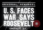 Image of Franklin Roosevelt addresses city of Chicago Chicago Illinois USA, 1937, second 5 stock footage video 65675031439