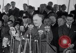 Image of Franklin Roosevelt addresses city of Chicago Chicago Illinois USA, 1937, second 46 stock footage video 65675031439