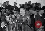 Image of Franklin Roosevelt addresses city of Chicago Chicago Illinois USA, 1937, second 47 stock footage video 65675031439