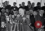Image of Franklin Roosevelt addresses city of Chicago Chicago Illinois USA, 1937, second 49 stock footage video 65675031439