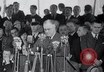 Image of Franklin Roosevelt addresses city of Chicago Chicago Illinois USA, 1937, second 50 stock footage video 65675031439