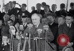 Image of Franklin Roosevelt addresses city of Chicago Chicago Illinois USA, 1937, second 51 stock footage video 65675031439