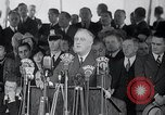 Image of Franklin Roosevelt addresses city of Chicago Chicago Illinois USA, 1937, second 52 stock footage video 65675031439