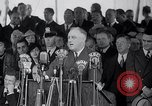 Image of Franklin Roosevelt addresses city of Chicago Chicago Illinois USA, 1937, second 53 stock footage video 65675031439