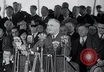 Image of Franklin Roosevelt addresses city of Chicago Chicago Illinois USA, 1937, second 54 stock footage video 65675031439