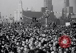 Image of Franklin Roosevelt addresses city of Chicago Chicago Illinois USA, 1937, second 58 stock footage video 65675031439