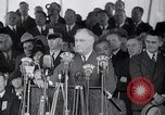 Image of Franklin Roosevelt addresses city of Chicago Chicago Illinois USA, 1937, second 60 stock footage video 65675031439