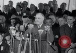 Image of Franklin Roosevelt addresses city of Chicago Chicago Illinois USA, 1937, second 61 stock footage video 65675031439